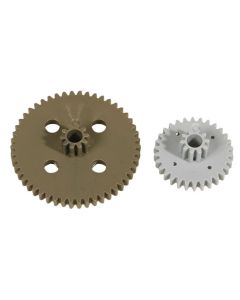 Double Gears 3.1mm Bore. Pack of 10
