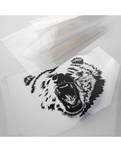 Transparent Stencil Film