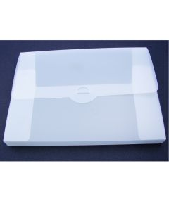 A4 hard Plastic Document Folder