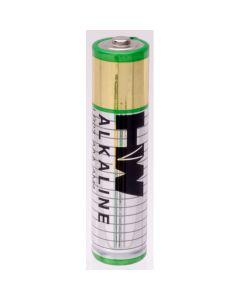 Alkaline Batteries - AAA - 1.5V. Pack of 4