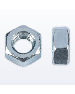 BZP Steel Hexagon Nuts. Pack of 100
