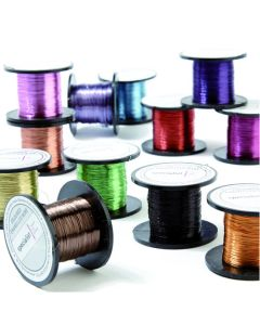 Coloured Enamelled Wire - 0.2mm 175m Reels