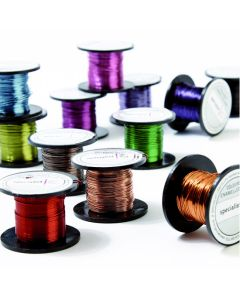 Coloured Enamelled Wire - 0.5mm 25m Reels