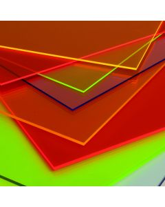 Fluorescent Perspex Cast Acrylic Sheets 3mm