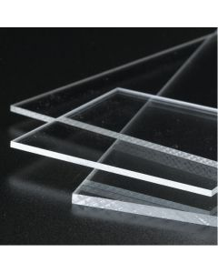 Clear Perspex Extruded Acrylic Sheets - 1015 x 500mm