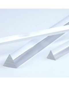 Clear Triangular Extruded Acrylic Rods