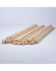 Balsa Wood Class Packs - Rectangular Strips