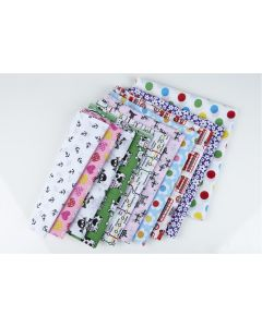 Polycotton Fun Prints Fat Quarters