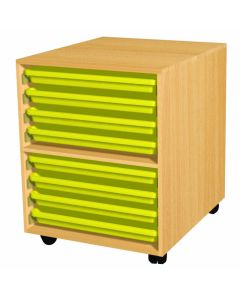 Paper Trolley - 8 Trays