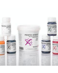 Specialist Crafts Printex Fabric Colours 60ml. Set of 6