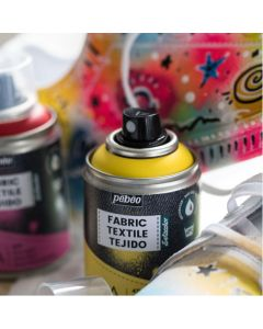 Pebeo Setacolor 7A Fabric Spray Paints