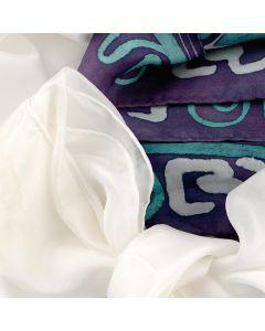 Pongee Silk Scarves