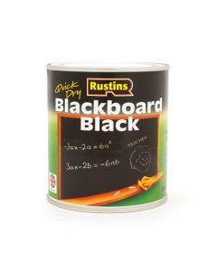 Rustins Blackboard Black Paint
