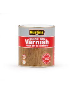 Rustins Quick Dry Acrylic Varnish - Gloss