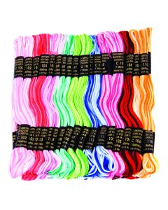 Pony 6 Strand Cotton Multicoloured Mixed Pack