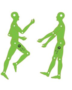 Jakar Moveable Figure Template - Male