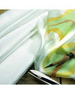 Quality White Silk. Per metre